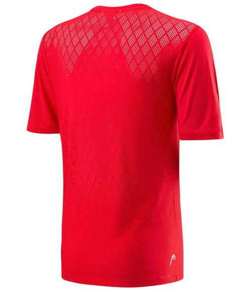 Camiseta HEAD Performance Crew Red