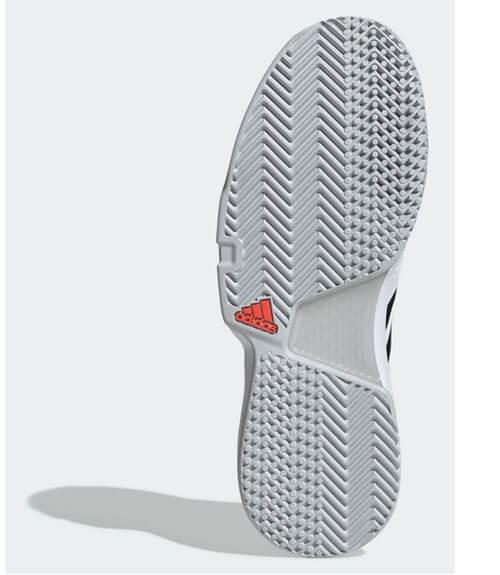 Zapatillas Adidas CourtJam Bounce Blancas-Negras 19