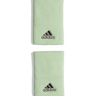 Blister 2 muñequeras Adidas Verde