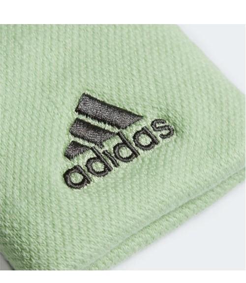 Blister 2 muñequeras grandes Adidas Verde