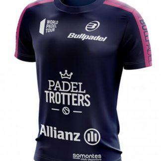 Camiseta Oficial Bullpadel Paquito Navarro Azul