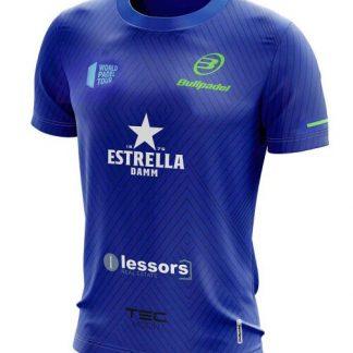 Camiseta Oficial Bullpadel Maxi Sánchez Azul Real