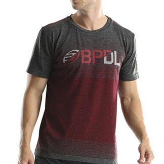 Camiseta Bullpadel Gerete Rojo Vigoré