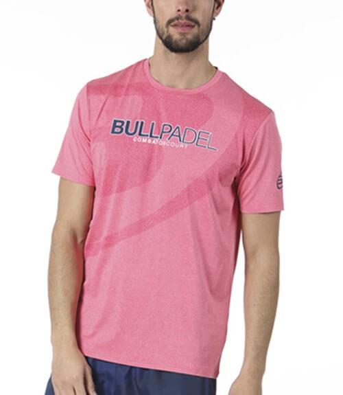 Camiseta Bullpadel Colkito Rosa Fucsia Vigoré