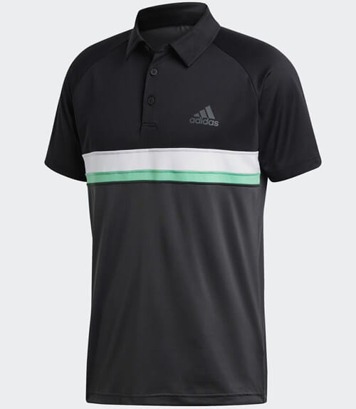 Polo Adidas Club Negro