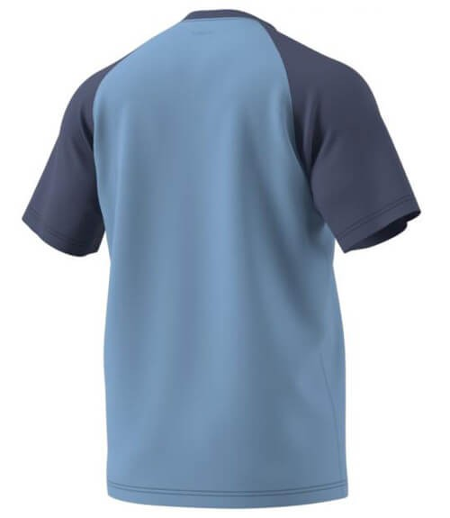 Camiseta Adidas Azul-Lima