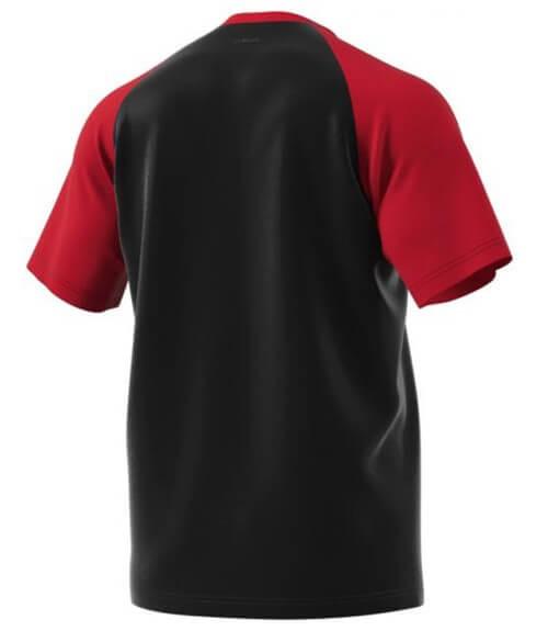 Camiseta Adidas Roja-Negra