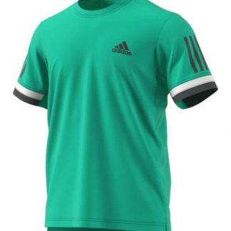 Camiseta Adidas Club Verde-Blanca