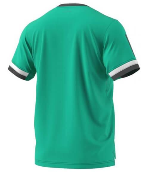 Camiseta Adidas Club Verde y Blanca