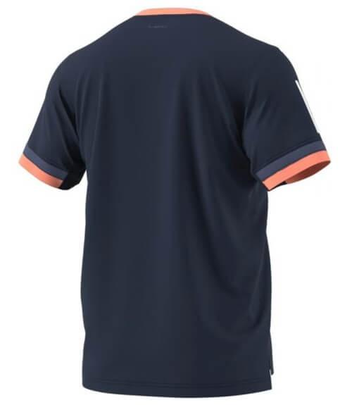 Camiseta Adidas Azul-Coral