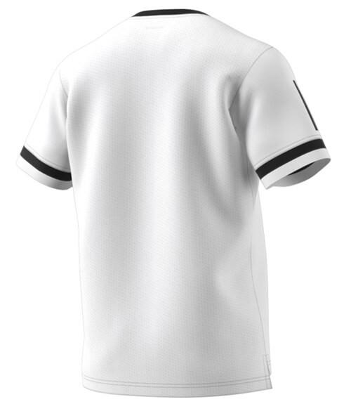 Camiseta Adidas Blanca-Negra