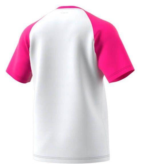 Camiseta Adidas Rosa-Blanca