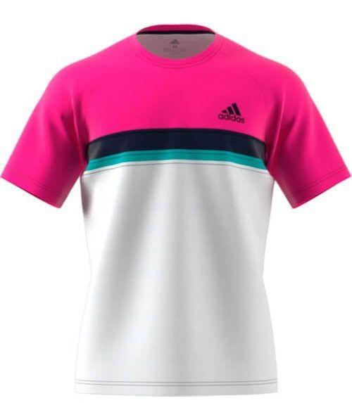 Adidas Camiseta Rosa-Blanca