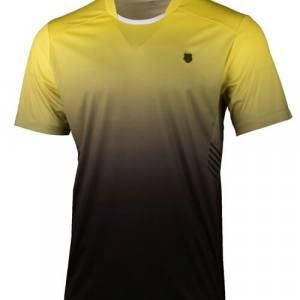 Camiseta K-Swiss Hypercourt Express Crew Amarilla