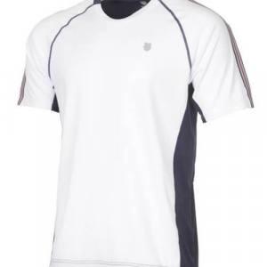 Camiseta K-Swiss Heritage Blanca