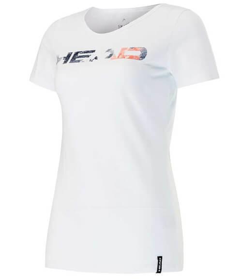 Camiseta HEAD Transition Eva Blanca Mujer