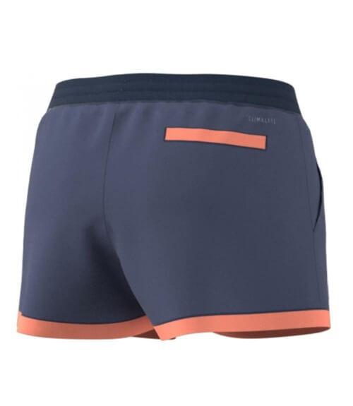 Pantalón Corto Adidas Club Azul Mujer
