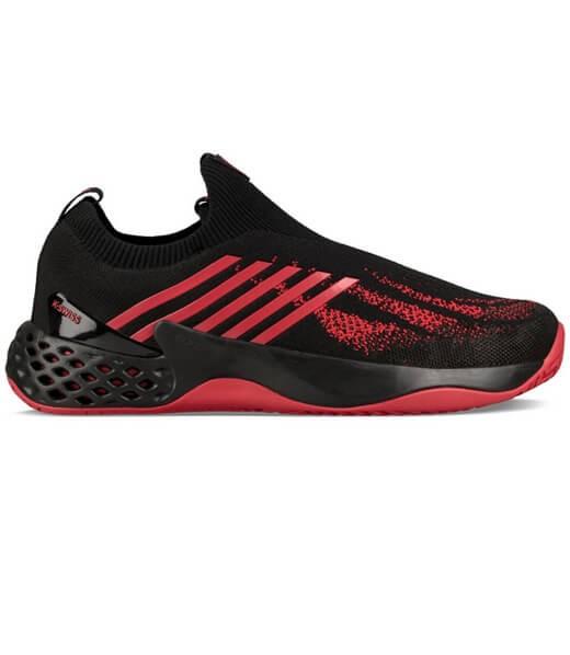 zapatillas mizuno negras rojas