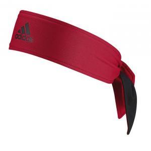 Cinta pelo Adidas Negra-Roja