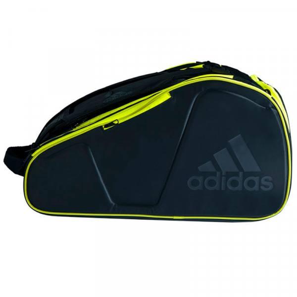 Paletero Adidas Pro Tour negro-amarillo