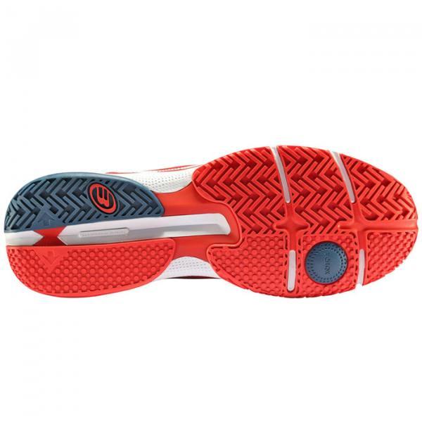 Zapatillas Bullpadel Vertex Light Rojo Suela