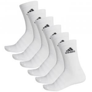 Calcetines Adidas Largos Blancos-Pack 6
