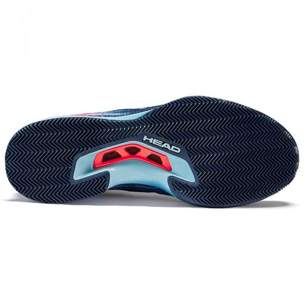 Zapatillas HEAD Sprint Pro 3 Sanyo DressBlues Neon Red 21