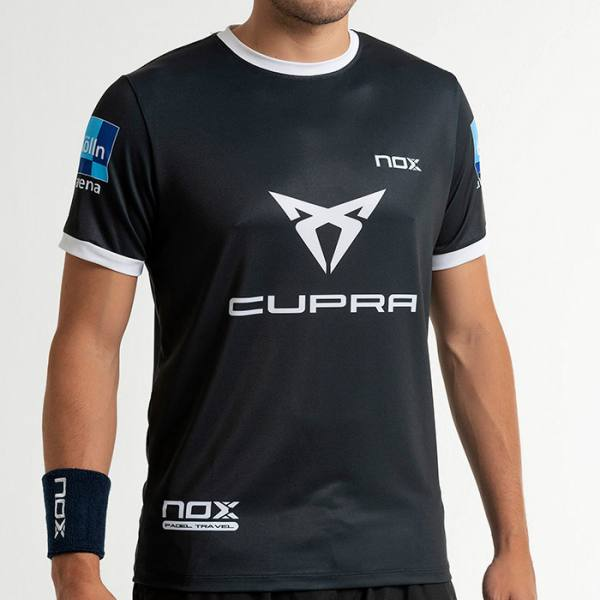 camiseta nox sponsors at10 team gris