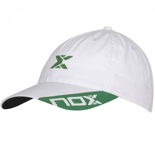 Gorra Nox Blanca-Verde