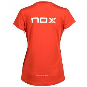 Camiseta Nox Team Roja Mujer 20