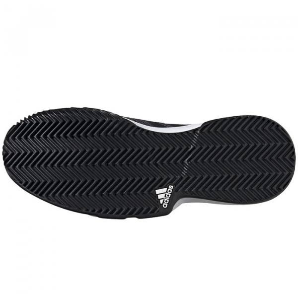 Suela de espiga zapatillas Adidas Courtjam Bounce Gris Suela