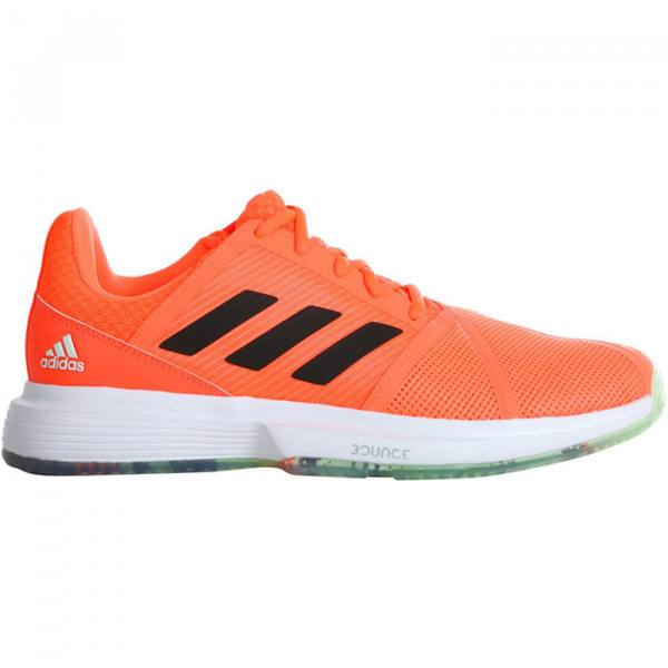 Zapatillas Adidas Courtjam Bounce Naranjas