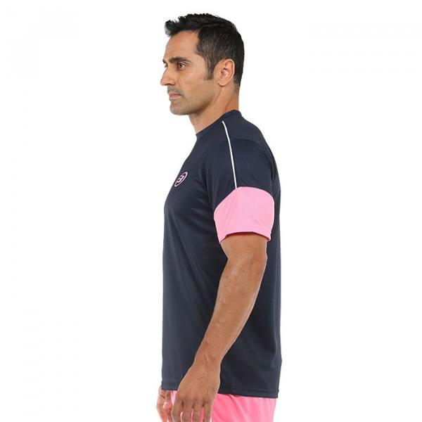 Camiseta Bullpadel Caqueta Azul Oceano profundo 2021