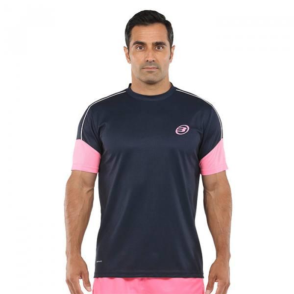 Camiseta Bullpadel Caqueta Azul Oceano profundo