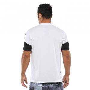 Camiseta Bullpadel Caqueta blanco 21