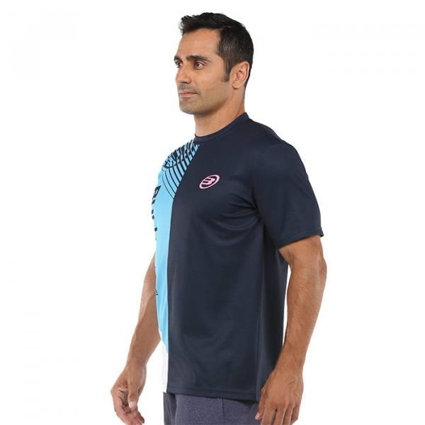Camiseta Bullpadel Carte Azul Oceano Profundo 2021