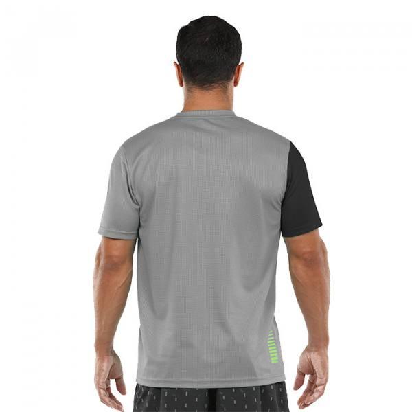 Camiseta Bullpadel Carte gris medio 21