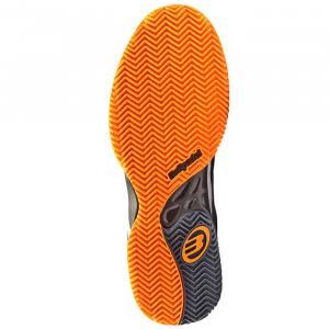 Zapatillas Bullpadel Beker Performance Azul y Naranja Suela