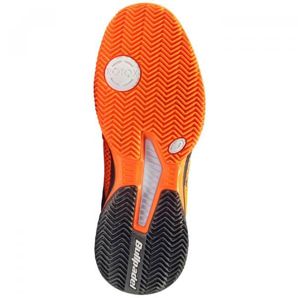 Zapatillas Bullpadel Vertex Grip Naranjas Suela