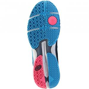 Zapatillas Vertex Hybrid Fly Azul Claro-Rosa Suela