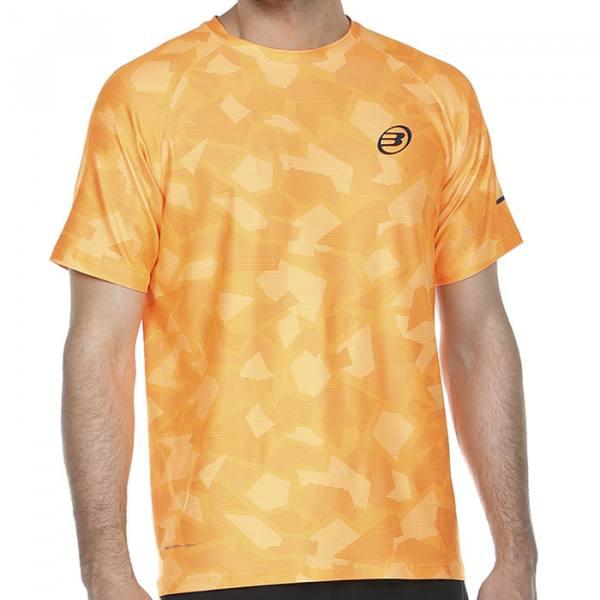 Camiseta Bullpadel Atlanta Mandarina