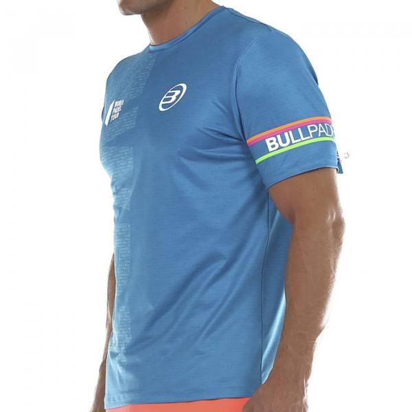 Camiseta Bullpadel Salbur Azul 2020
