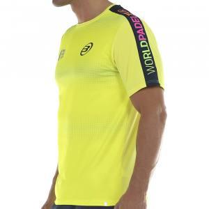 Camiseta Bullpadel Sansevi Amarilla 2020