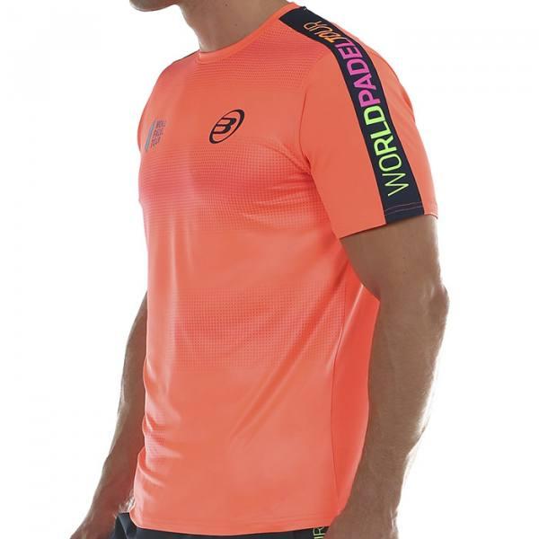 Camiseta Bullpadel Sansevi Naranja
