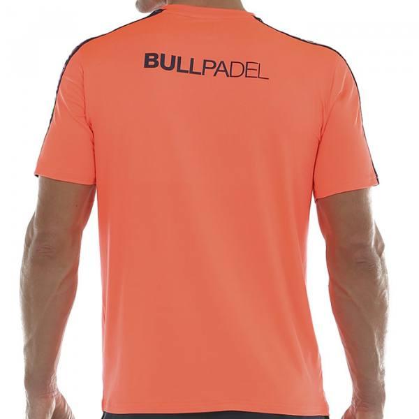 Camiseta Bullpadel Sansevi Naranja 2020