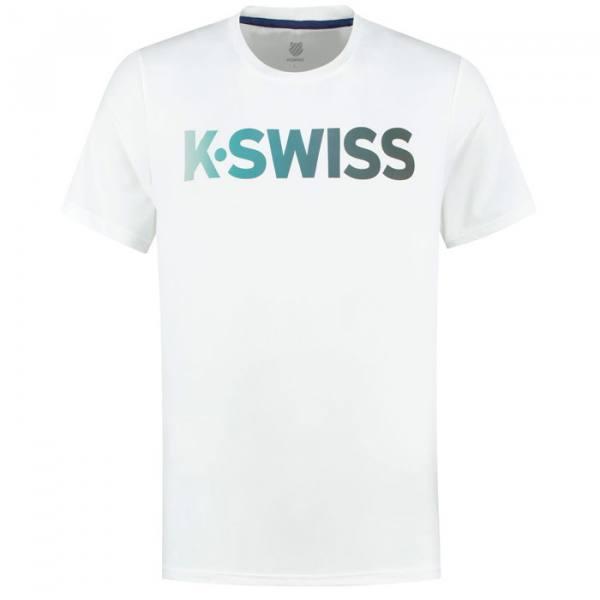 Camiseta K-Swiss Hypercourt blanca