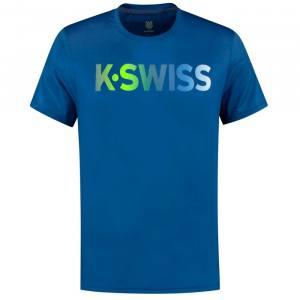 Camiseta KSwiss Hypercourt Azul