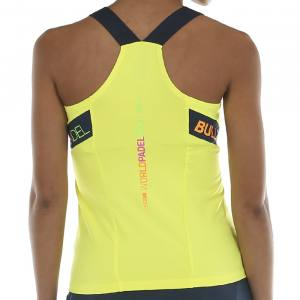 Camiseta Tirantes Bullpadel Serenis Amarilla 20