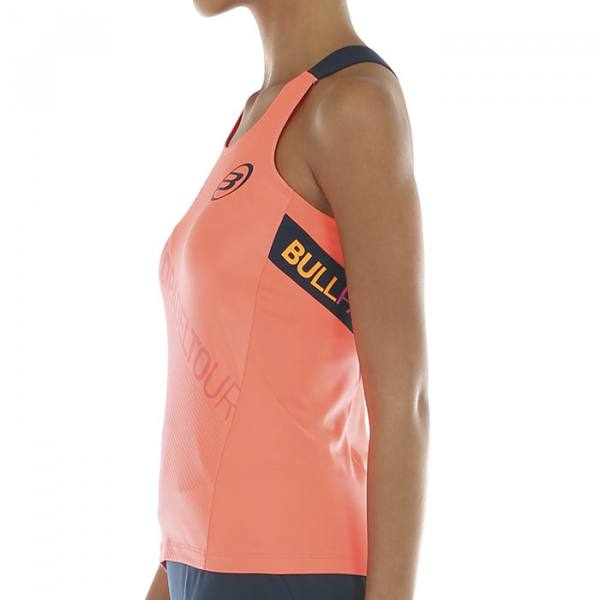 Camiseta Tirantes Bullpadel Serenis Pomelo 2020