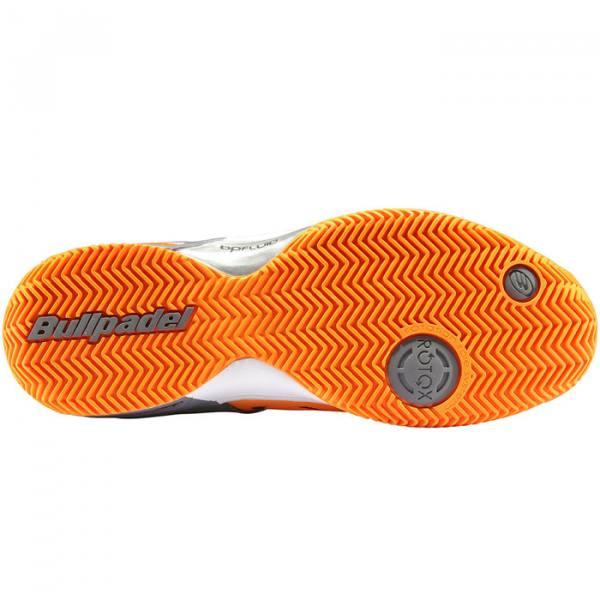 Zapatillas Bullpadel Bortix Naranja Suela